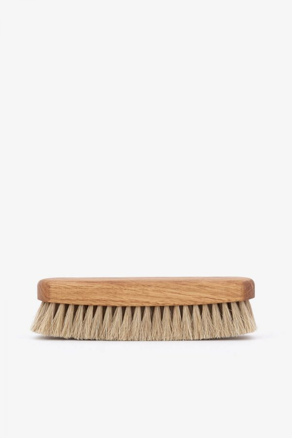 Redecker Shoe Shine Brush Natural – Vaalea kenkäharja